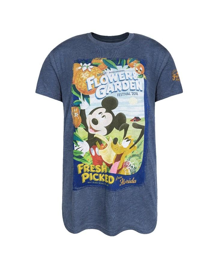 2018 Epcot Flower and Garden t-shirt