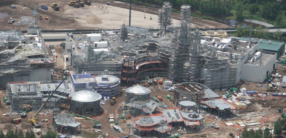 21 Aerial Photos Updating Major Disney World Construction Disney Diary