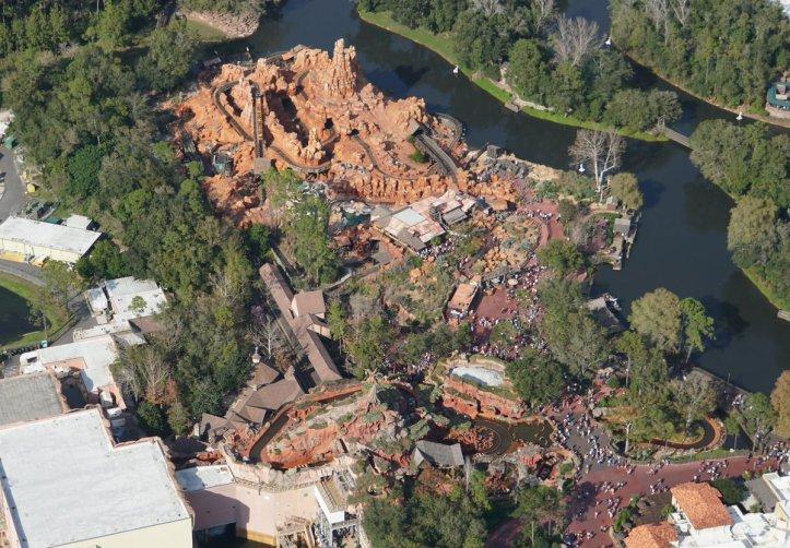 Photos 11 Seldom Seen Aerial Views Of The Magic Kingdom Disney Diary