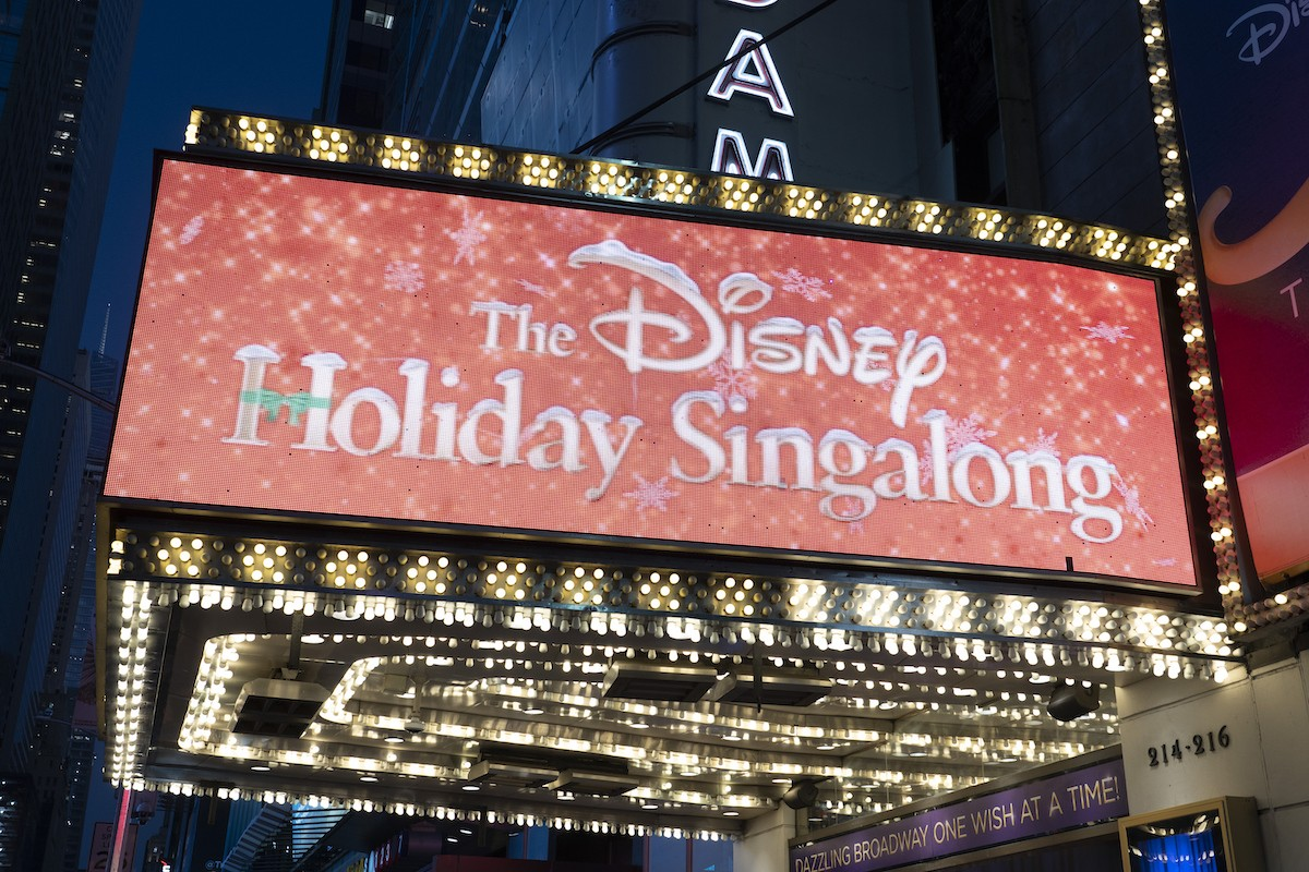 Here's who is appearing on The Disney Holiday Singalong on ABC tonight