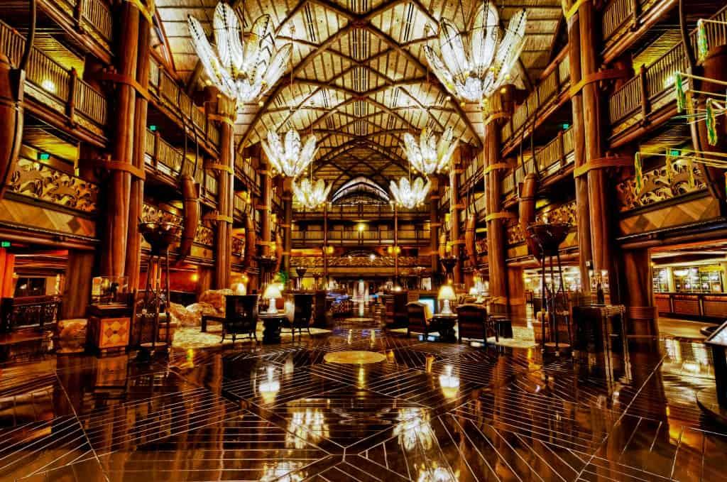 Top 10 Resort Lobbies At Walt Disney World