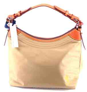 Tan Nylon Erica w/ orange Mickey OOAK