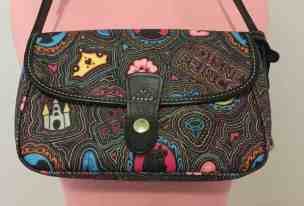 Black Pop Princess Snap Crossbody