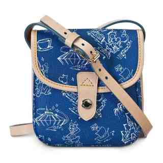 Blue WDW Disneyana Small Crossbody