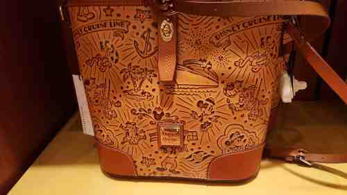 DCL Brown Sketch Crossbody