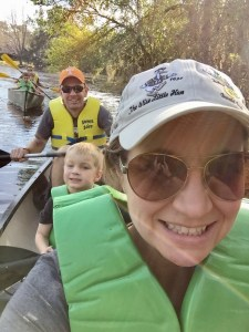 Family Canoe at Ft Wildernesss Resort and Campground