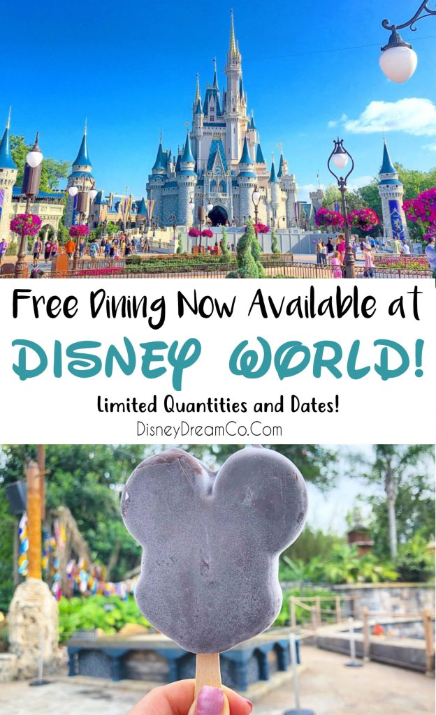 Free Dining Disney World Discount Sale
