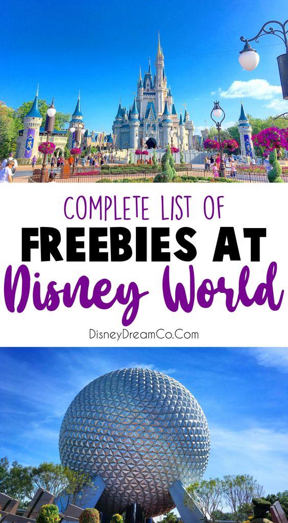 Free things at Disney World