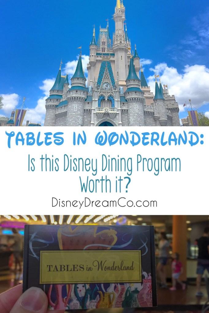 Tables In Wonderland Disney World Dining Program Dream Co