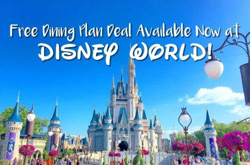 Disney World Free Dining- Disney World Discount Sale