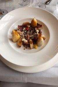 artic char, celebration, Monsieur Paul Dining review
