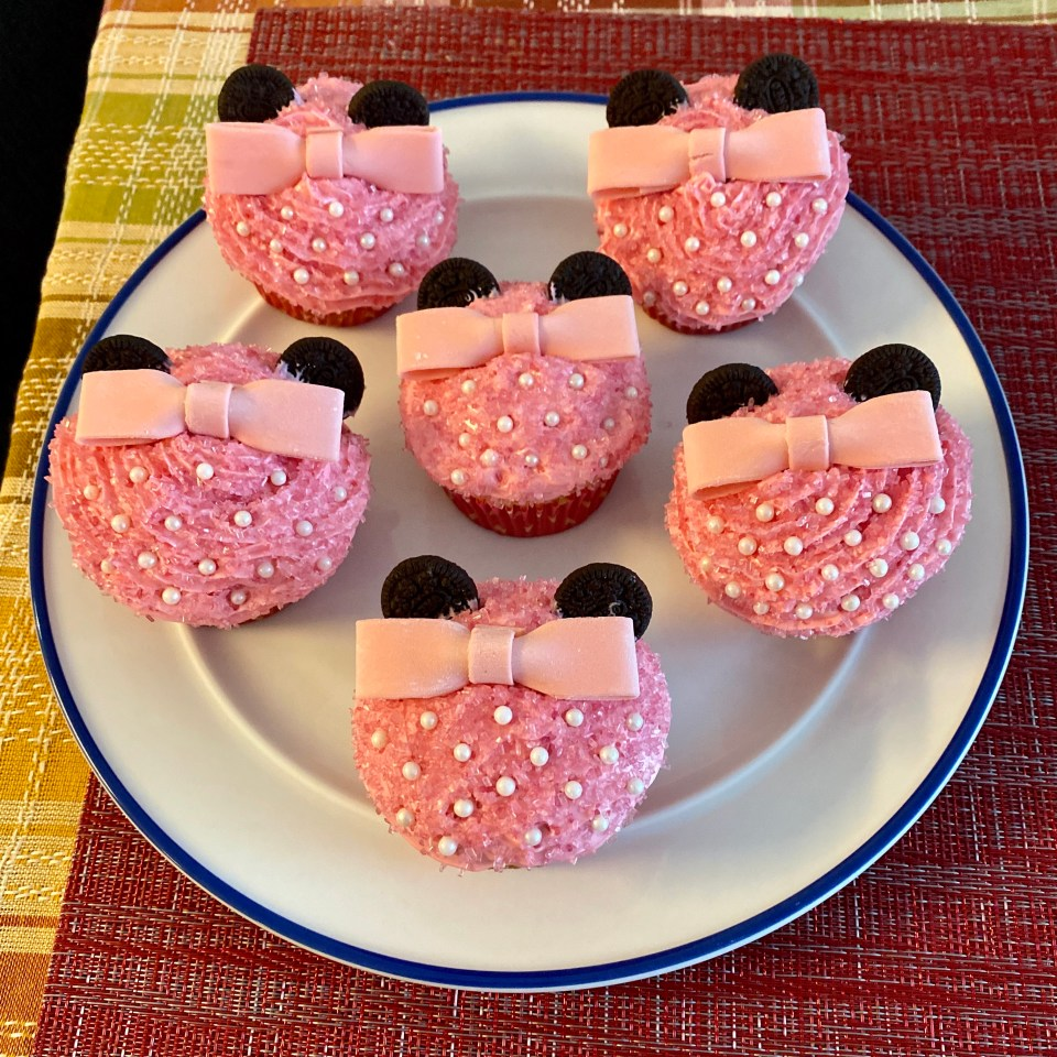 Disney Cupcakes - Minnie Mouse