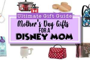 Mother's Day Gift Guide for a Disney Mom