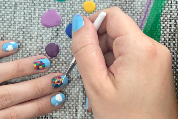 Nail Art - Balloon String