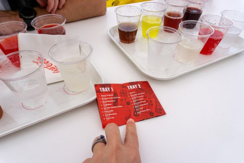 Coke tray, Coca-Cola Rooftop Bar