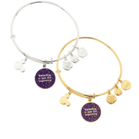 "Tinker Bell ""Believing is just the beginning"" Bangle by Alex and Ani"