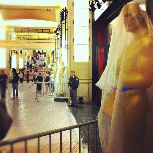 2012 Academy Awards Preparation Hollywood And Highland Center 1