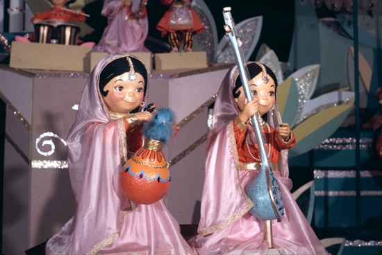 Alice Davis Its A Small World Doll Costume Concept Art