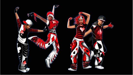 Deck Dancers Mad T Party Concept Art
