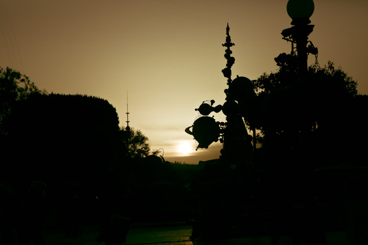 One More Disney Day Disneyland Tomorrowland Sunrise