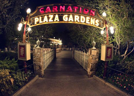 Carnation Plaza Gardens Disneyland