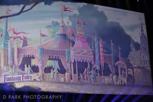 Fantasy Faire Fantasyland Concept Art
