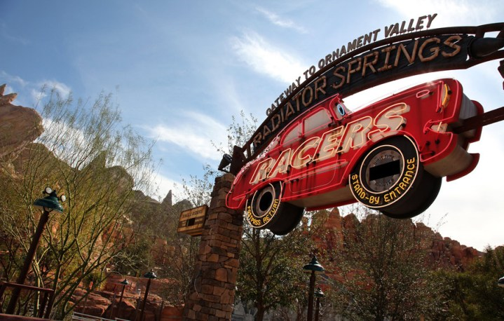 Radiator Springs Racers During Day