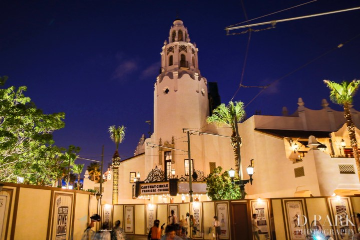 Carthay Circle Restaurant At Night