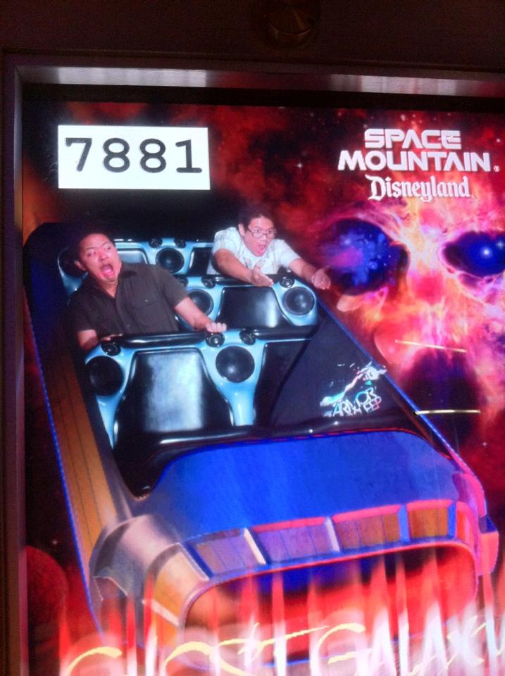 Disneyexaminer Staff Space Mountain Ghost Galaxy Photo 1