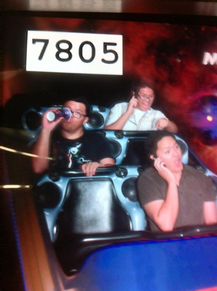 Disneyexaminer Staff Space Mountain Ghost Galaxy Photo 3