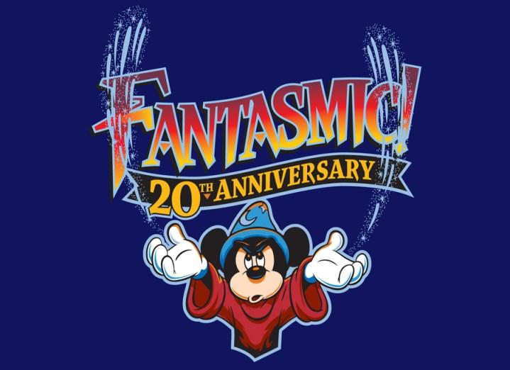 Fantasmic 20th Anniversary Logo 2