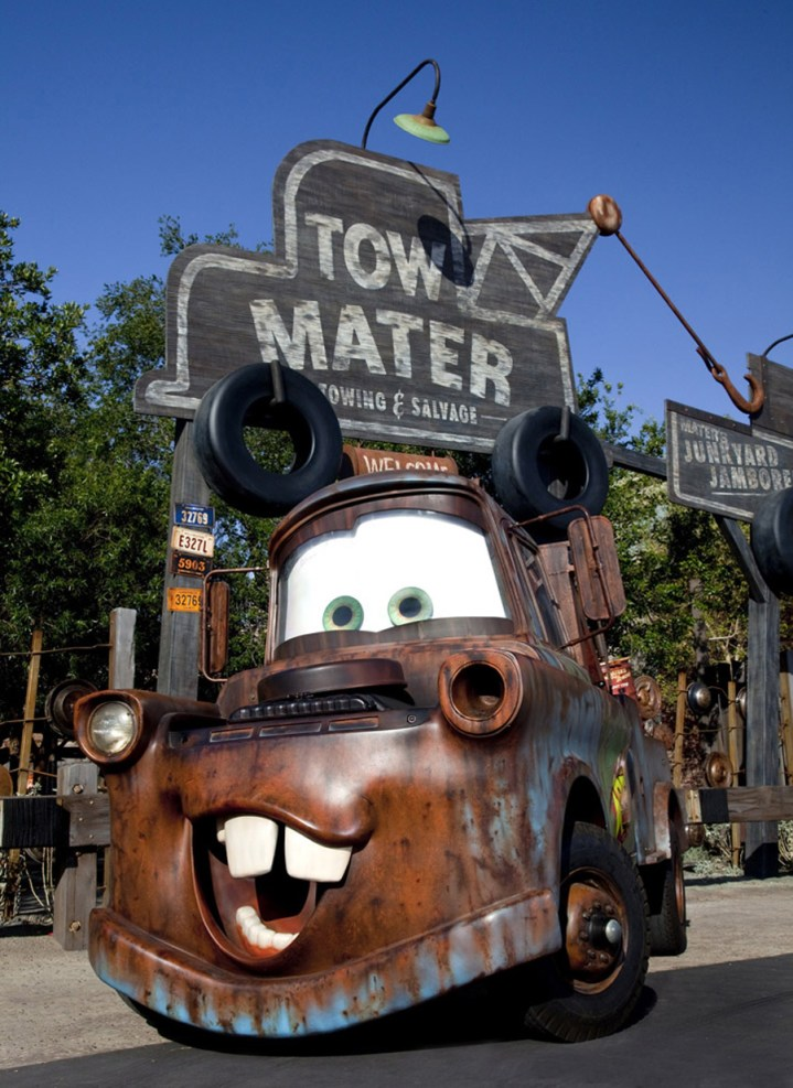Hidden Mickey Maters Junkyard Jamboree Cars Land