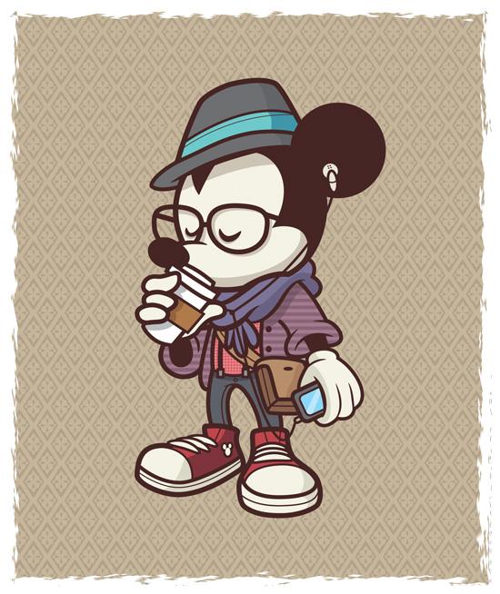 Hipster Mickey Jerrod Maruyama
