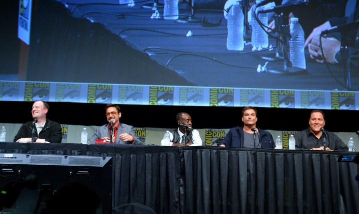 Iron Man 3 Comic Con Cast