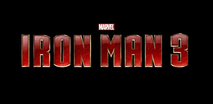 Marvel Iron Man 3 Logo