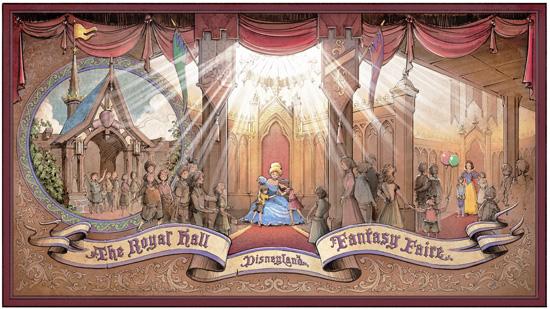 Fantasy Faire Concept Art