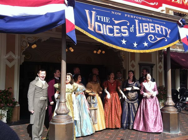 Voices Of Liberty Disneyland 2