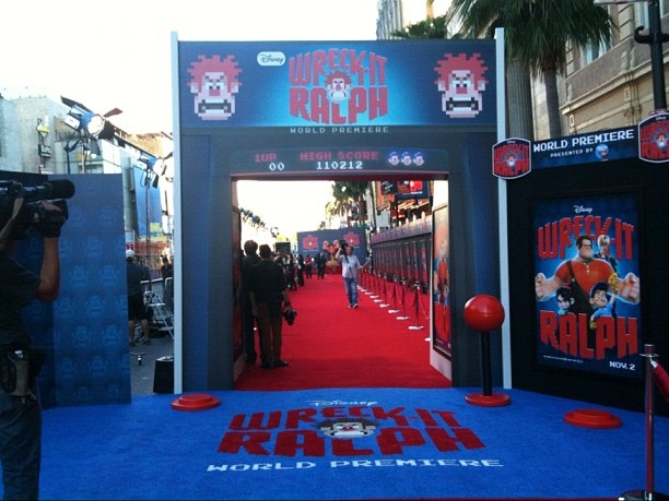 Wreck It Ralph World Premiere