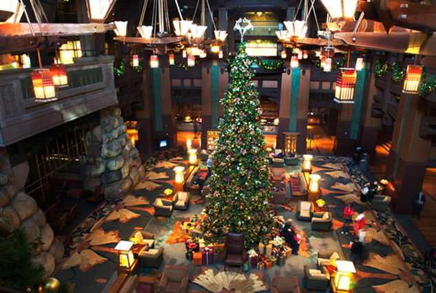Disneys Grand Californian Hotel Christmas