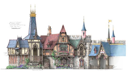 Fantasy Faire Concept Art 5
