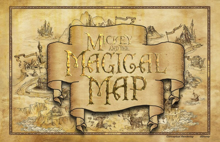 Mickey And The Magical Map Logo