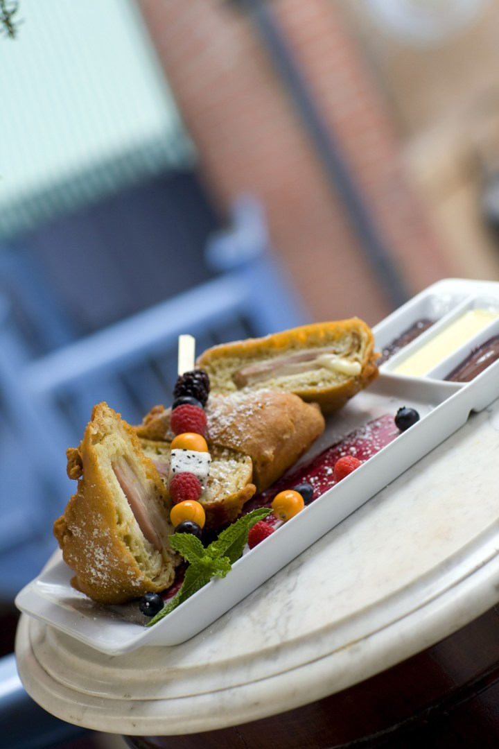 Blue Bayou Fresh Menu 2 Monte Cristo Sandwich
