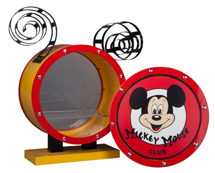 D23 Silent Auction Mickey Mouse Club Drum