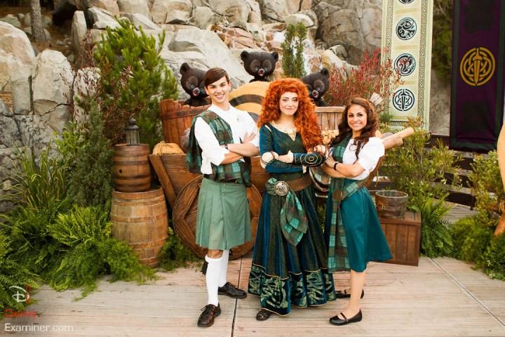Disney California Adventure Grand Reopening Disneyexaminer Coverage Day 2 Buena Disney Pixar Brave