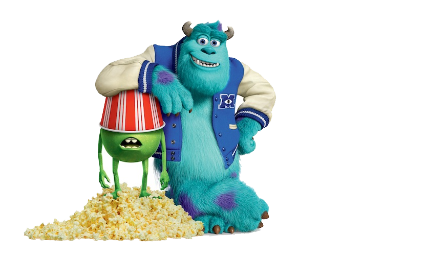 Mike and sulley popcorn monsters university disneyexaminer mike and sulley popcorn monsters university voltagebd Image collections