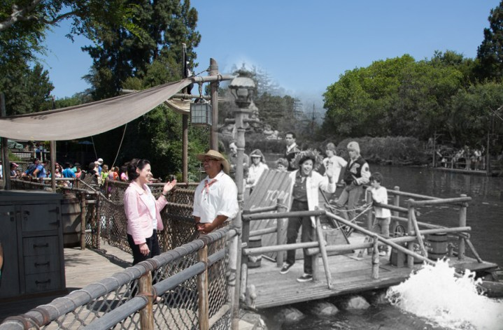 Disneyland Tom Sawyers Island Blast From The Past