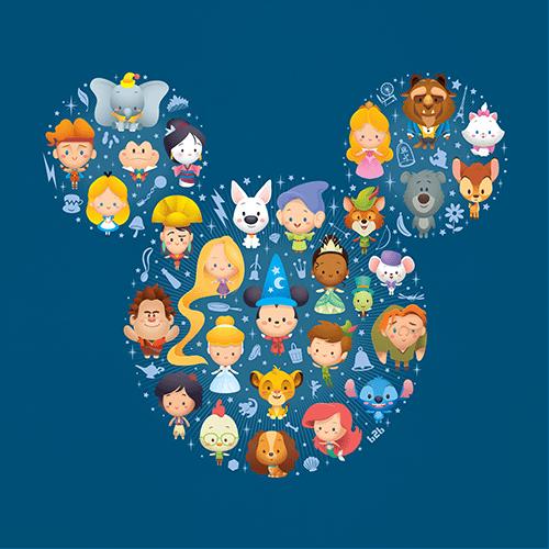 Jerrod Maruyama A World Of Cute Disney Character Art