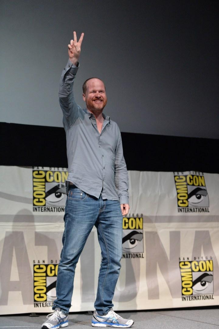 Joss Whedon Disney Marvel Director Comic Con 2013