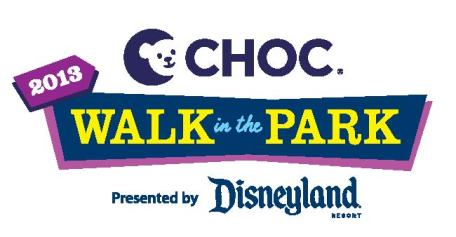2013 Choc Walk In The Park Logo Disneyland Resort