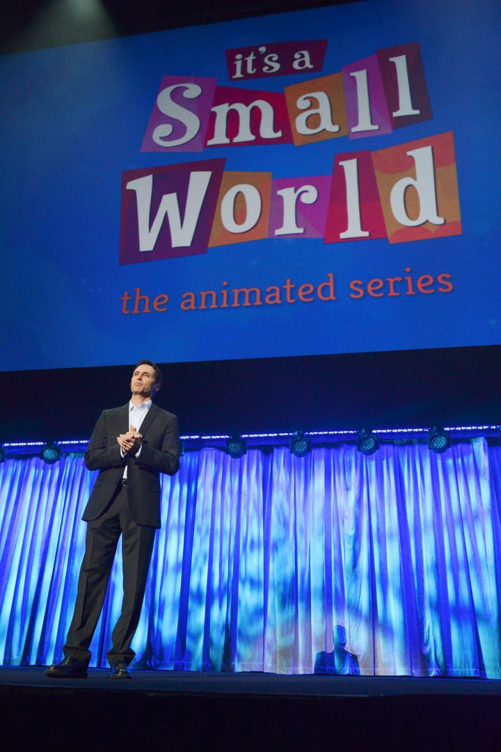2013 D23 Expo Jimmy Pitaro Disney Interactive Its A Small World Animated Series